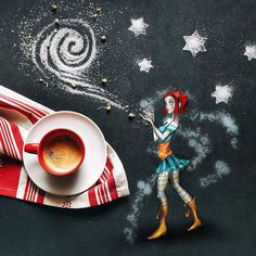 The sparks maker #littlecoffeestories  It's Monday, I know, but I hope you have a good one :)