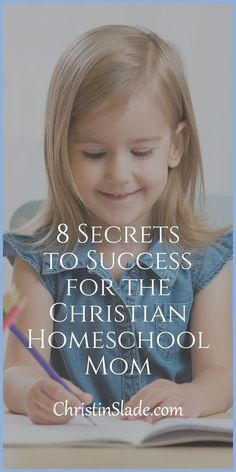 The backbone of a successful homeschool is having solid habits in place.