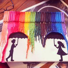 Creativitat amb colors!!! És una manualitat màgica!!!