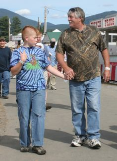It's like a Normal Rockwell moment at the Big Butler Fair