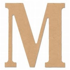 "Image result for wooden 8"" letter from.walmart"
