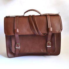 048ab7f918 Backpack #1 Vegan Non-Leather Satchel. Cartable CuirFait MainVitrine SacCartable ...