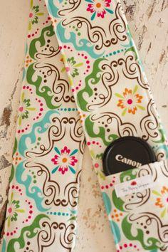 Camera Strap Cover- Songbird