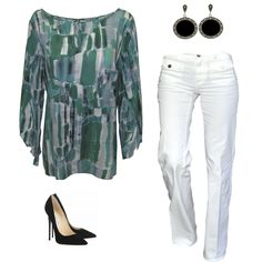 La elegancia se refleja en esta linda blusa de crepé. #Moda Pierre Cardin Dama
