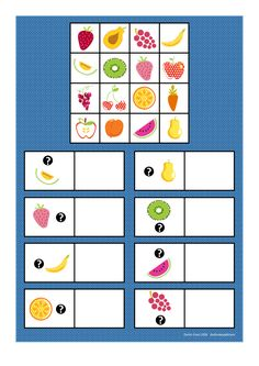 """Board for the """"Whats next to"""" game. Find the belonging tiles on Autismespektrum on Pinterest. By Autismespektrum"""