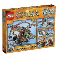 LEGO Legends of Chima 70227 - King Crominus' Rescue #Lego #LegoChima #Chima #LegendsofChima #afol #toys #LegoNews