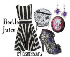 "Look what will appear in your closet when you say ""Beetlejuice!"" three times!"