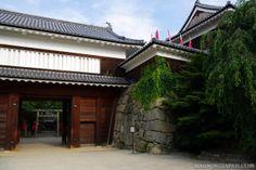 Japanese castles I've visited: #103 Ueda Castle in Nagano Prefecture.