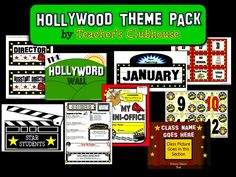 """Here's a look at some of our """"Hollywood Bundles"""" that are already available on our site and our TpT shop."""