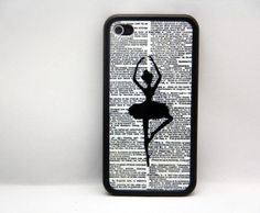 Ballet Dance Girl iPhone 5/5S/5C/4/4S Rubber Case,iPod Touch 5/4 Hard Case,Samsung Galaxy S3/S4 Rubber Case,S2/Note 2 Hard Cover on Etsy, $8.99