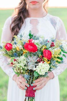 Vibrant Southwest Wedding Inspiration, K. Rainier Photography, Celebrating Love by Marcie, Montagu Meadows