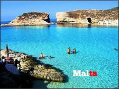 Blue lagoon, Comino, Malta - spent so many times snorkeling here over the years, so beautiful Dream Vacation Spots, Dream Vacations, Malta Comino, Beautiful Islands, Beautiful Places, Places To Travel, Places To See, Places Around The World, Around The Worlds