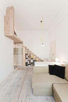 """עיצוב דירה קטנה – פנינה עם 29 מ""""ר"""