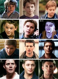 The evolution of Dean Winchester.
