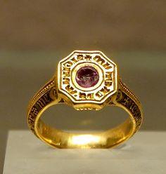 Signet-ring Black Prince Louvre OA9597 - Edward, the Black Prince - Wikipedia, the free encyclopedia