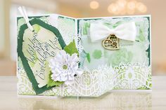 The Peach Sorbet collection brings a new concept, building on the incredibly popular torn edge collections.   For more information visit: www.tatteredlace.co.uk Peach Sorbet, Tattered Lace Cards, Shaped Cards, Card Making, Gift Wrapping, Concept, Shapes, How To Make, Collections