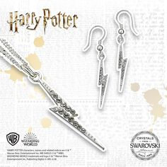 Order this Harry Potter Lightning Bolt Necklace online. Harry Potter Lightning Bolt, Harry Potter Films, Necklace Online, Swarovski Crystals, Jewlery, Death, Sparkle, Touch, Sterling Silver