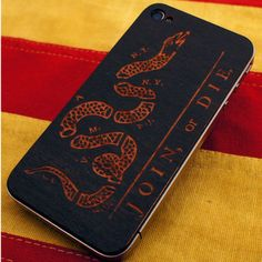 phone cover. join or die