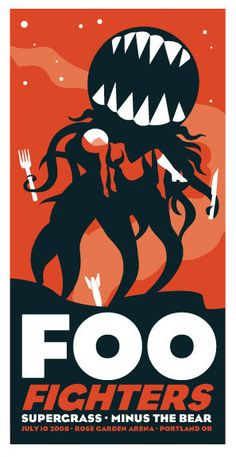 Foo Fighters - Supergrass - Minus The Bear