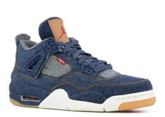 2e3472806d8 2017-2018 New Arrival Air Jordan 4 Retro Levis Nrg levis denim AO2571 401