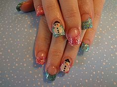 Pink and Teal by dcgroves - Nail Art Gallery nailartgallery.nailsmag.com by Nails Magazine www.nailsmag.com
