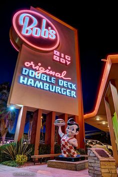 Bob's Big Boy ~ We had one on Colorado Blvd. between Glendale Ave. and Adam's in Glendale, Calif. were I grew up. Best blue cheese dressing you'll ever eat. YUMMY!