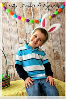 Kelly Hughes Photography Easter picture.