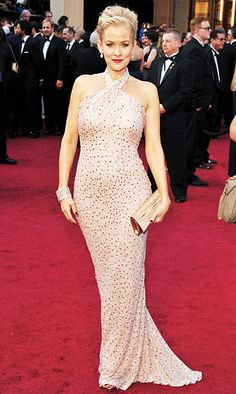Penelope Ann Miller in Badgley Mischka Oscars 2012