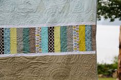 Love the spiral quilting