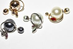 The Pearl Earrings by Christian Dior Christian Dior, Earrings, Gold, Pearls, Silver THE DAILY OBSESSIONS Joseph Molines