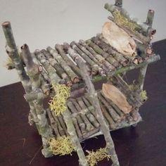 Cool item: Fairy garden bunk bed handmade #beardeddragondiy