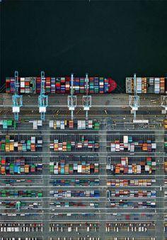 Jeffrey Milstein Container Port 38 presented by Foster White Gallery, Seattle