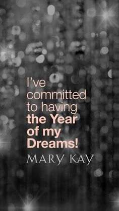 The year of my dreams!!!