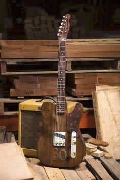 Fender custom shop 30th anniversary jason smith masterbuilt pine Esquire
