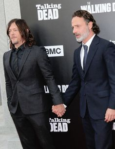 Rickyllovers — reedusgif:   Norman Reedus and Andrew Lincoln at...