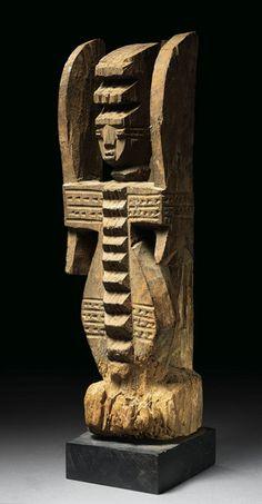Igbo Ikenga Alusi ('Spirit' Right Hand Altar Figure), Nigeria http://www.imodara.com/post/95128625044/nigeria-igbo-ikenga-right-hand-altar-figure