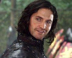 Guy of Gisborne (Richard Armitage). Sexiest villain ever. Richard Armitage, Leicester, Hobbit, Robin Hood Bbc, Stormy Waters, Happy Guy, Bbc Drama, Bbc Tv Series, Human Soul