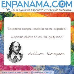 Sospecha ... Suspicion ... | #PANAMA #EnPanama #TRAVEL #QUOTES #VIAJES #CITAS http://www.facebook.com/en.panama  EnPanama.com