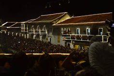 #Luces desde el Hotel Plaza Mayor Villa de Leyva