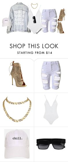 """""""-"""" by roexstylez89 ❤ liked on Polyvore featuring Giuseppe Zanotti, Topshop, Cartier and CÉLINE"""