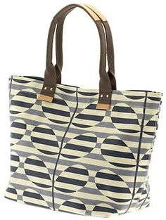 I love Orla Kiely bags (they remind me of Cheri Lester's art). Just got this at Piperlime.