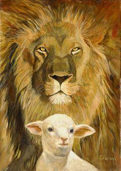 Peace, Lion and Lamb, Joyce Gibson