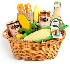 Corn Lover's Gift Basket
