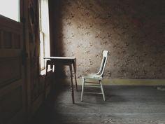 window light + wallpaper