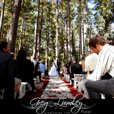 I wouldn't mind getting married here.