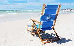 This is the highest quality beach chair that you can find anywhere, and it's one of the last beach chairs that you'll ever need to buy. We know this to be true because not only is this folding beach chair made in the U.S.A., it's made right here in Santa Rosa Beach, Florida by lifelong local Brad McDowell.