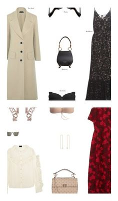 """""""Sexy Spring Attire"""" by s-thinks ❤ liked on Polyvore featuring Tom Ford, Prada, Burberry, ootd, Valentino, Magda Butrym, Gianvito Rossi and Yves Saint Laurent"""