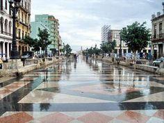 Listo el Paseo del Prado para el desfile de Chanel en Cuba
