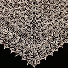 Crinoline Lace Shawl by Alina Appasov