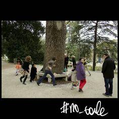 No tale #skantzman #no_tale #paris #france #colour #kodakchrome #digital #manolisskantzakis #tree #running #circle #x100